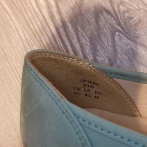 """Hotter Shoes - HOTTER """"JEWEL"""" PISTACHIO GREEN BALLERINA FLAT"""